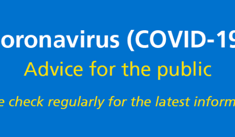Coronavirus / Covid19 Latest Advice